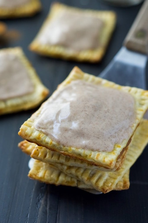 Homemade Pumpkin Brown Sugar Cinnamon Pop Tarts - wow yum!!!!