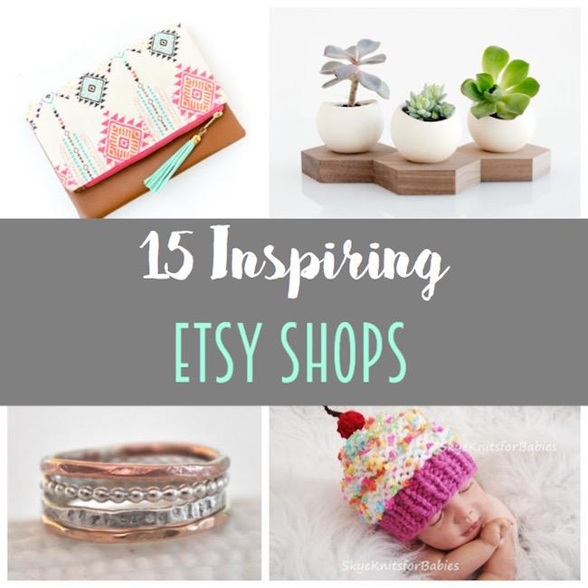 15 Inspiring Etsy Shops