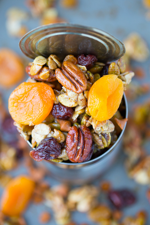 Maple Pumpkin Trail Mix - so delicious and filling!