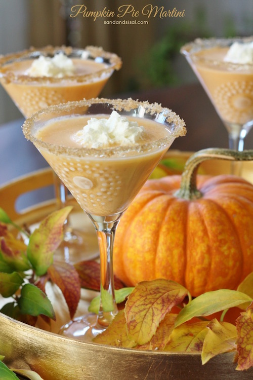 Tasty Pumpkin Pie Martini