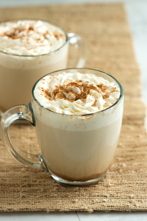Homemade Pumpkin Spice Latte - the best part of fall!