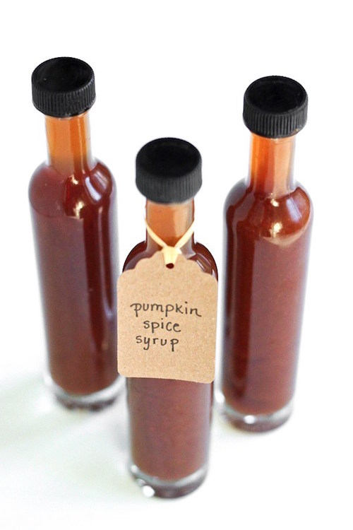 Homemade Pumpkin Spice syrup for pancakes, coffee or desserts.