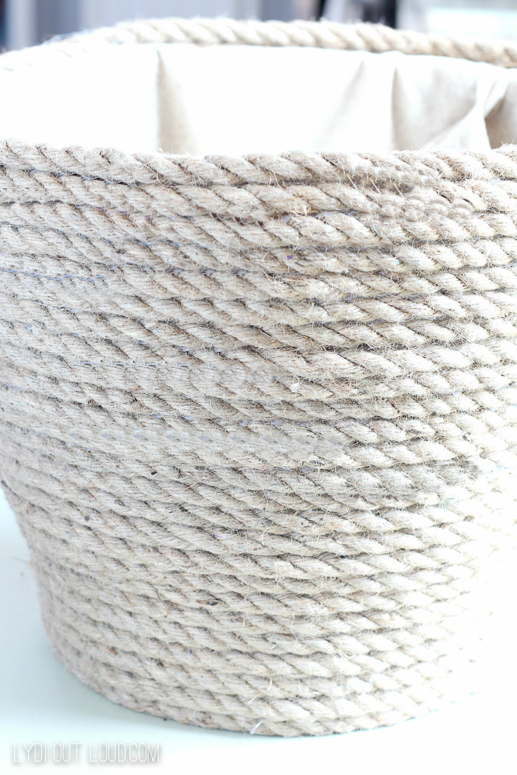 Laundry basket makeover