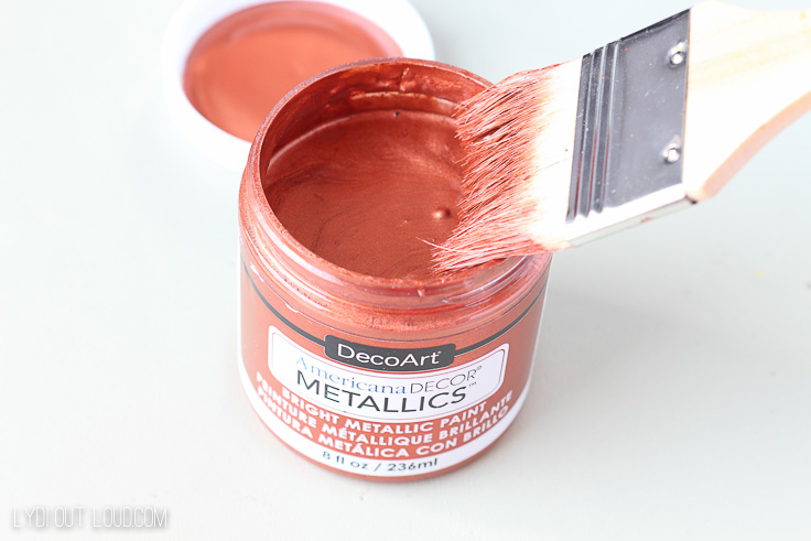 Americana Decor Copper Metallic Paint