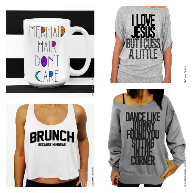 These are so hilarious! I love funny tees and mugs!