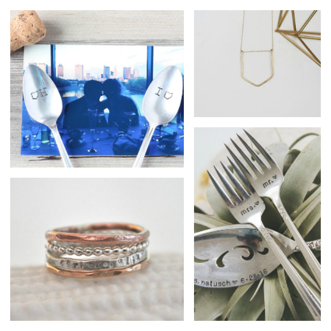 Jessica N Designs is the best jewelry designer on etsy! Love the spoons too!