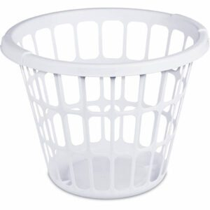 """Before"" laundry basket"
