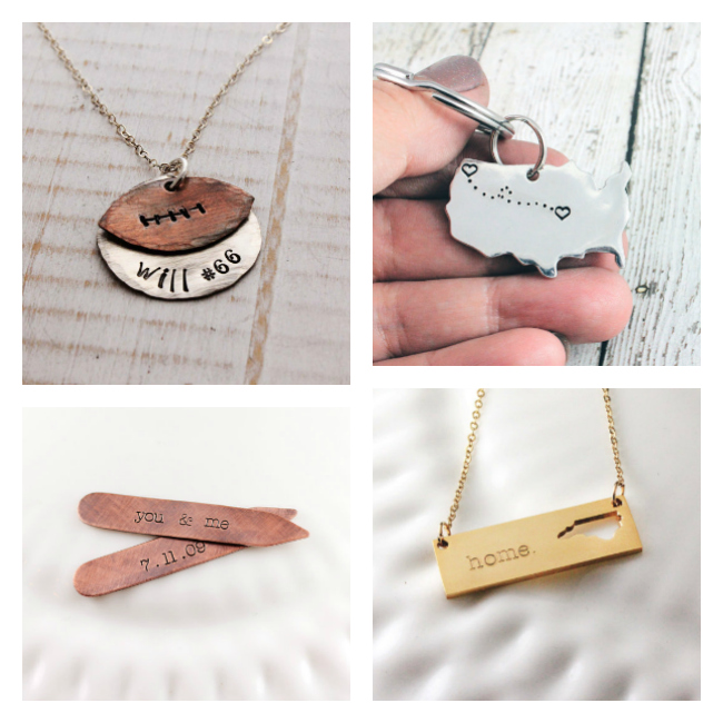 Beautiful personalized jewelry for moms or anyone.