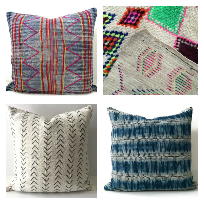 I love the mud cloth trend and these designs capture it perfectly!