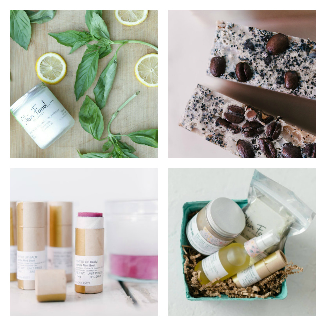 I love these organic beauty products!