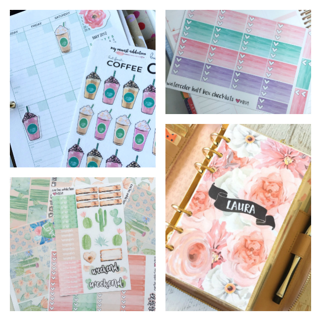 Such fun planner accessories from etsy!