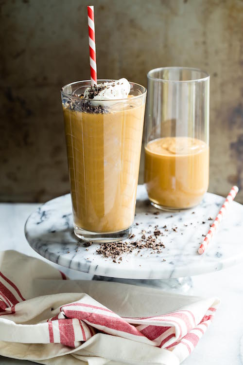 Pumpkin Spice Nutella Smoothie - this sounds like heaven!