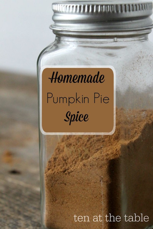 Homemade Pumpkin Pie Spice - tastes way better than the store bought!