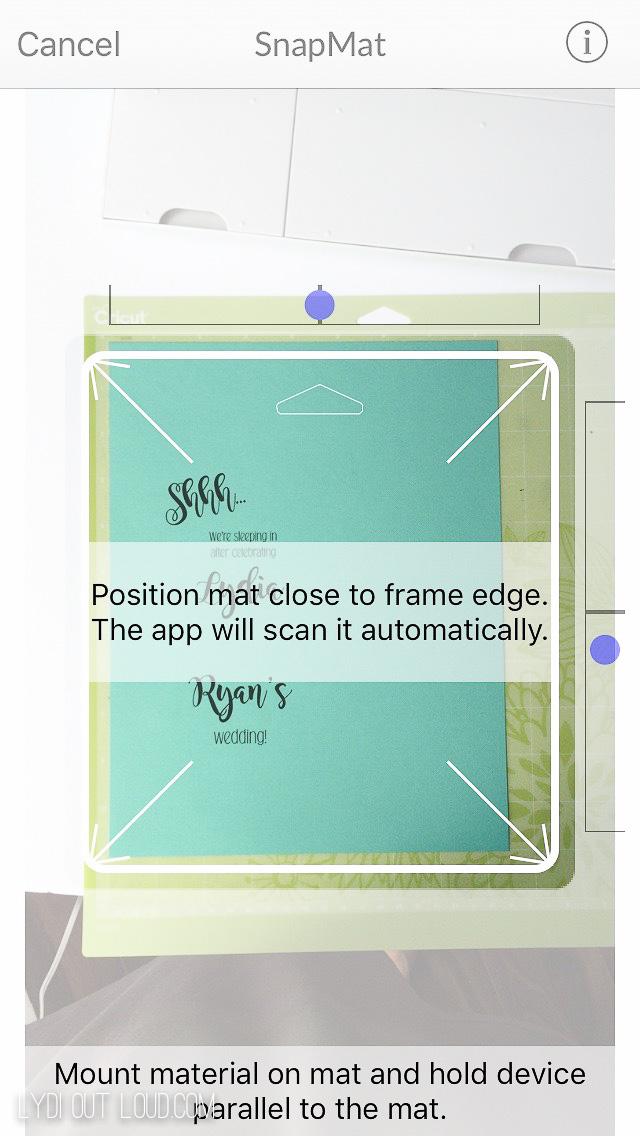 SnapMat in Cricut Design Space App