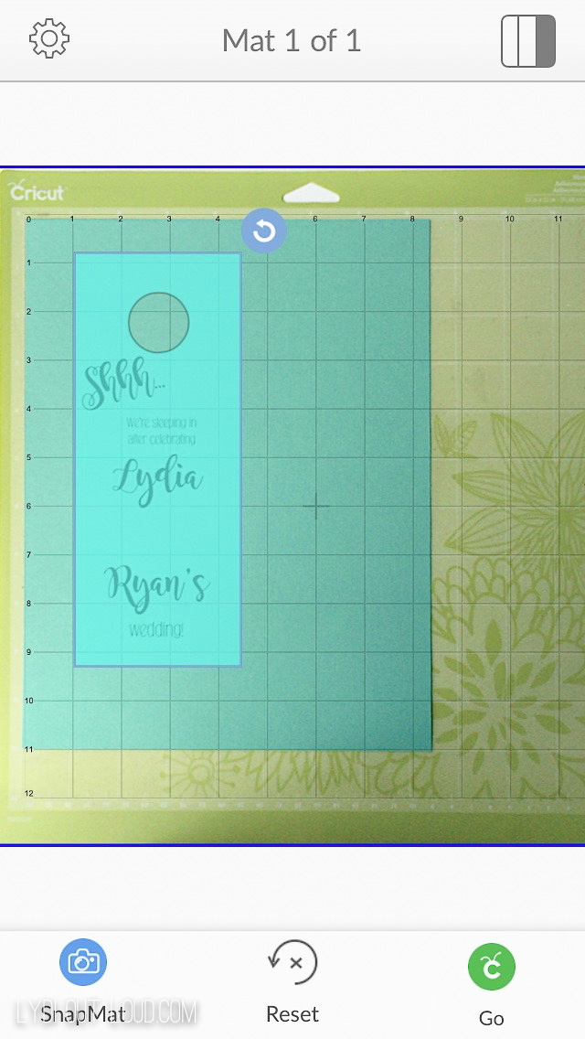 Cricut SnapMat makes it easy to cut EXACTLY where you want!