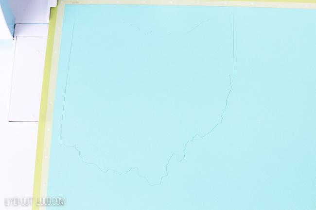 State of Ohio cut file