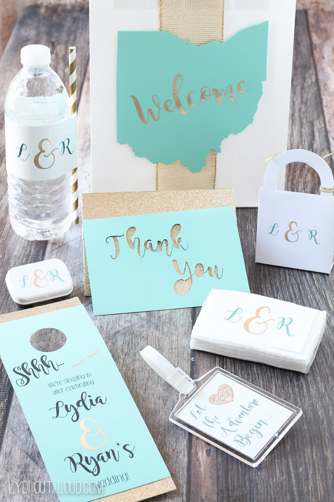 Wedding Guest Gift Bags Such Fun And Easy Diys