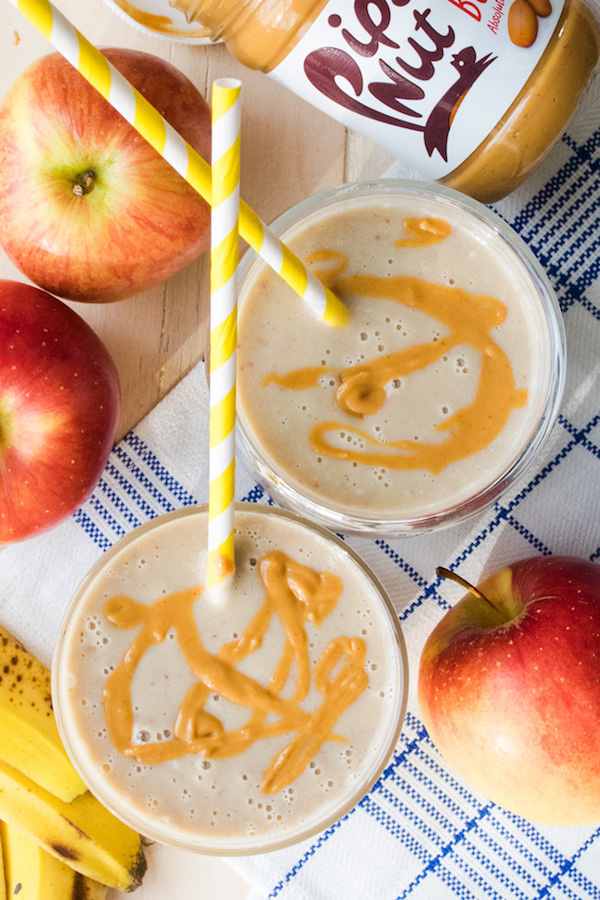 Apple Peanut Butter Smoothie