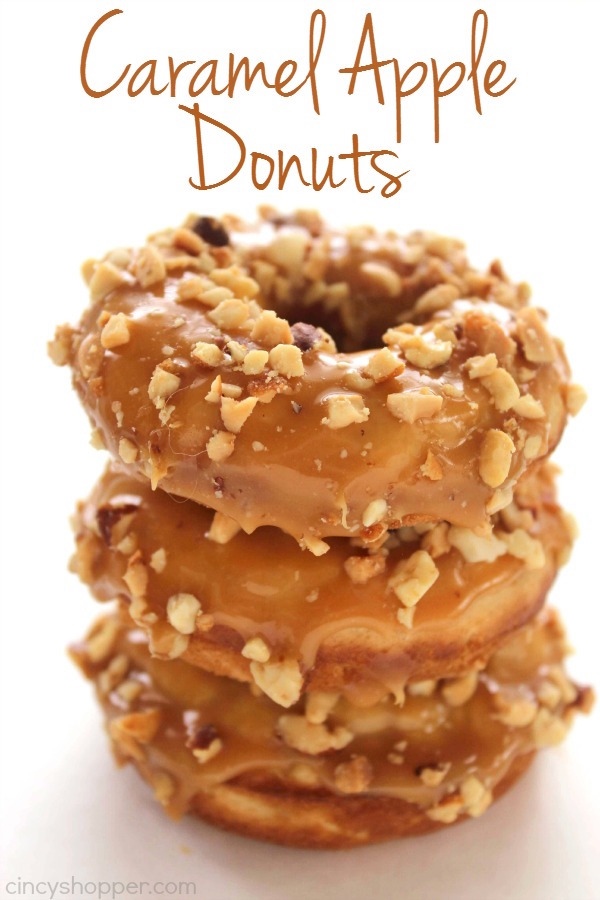 These Caramel Apple Donuts are heavenly!