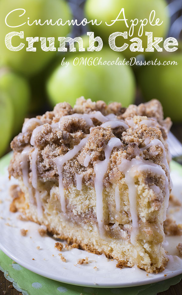 Glazed Apple Cinnamon Oatmeal Cake