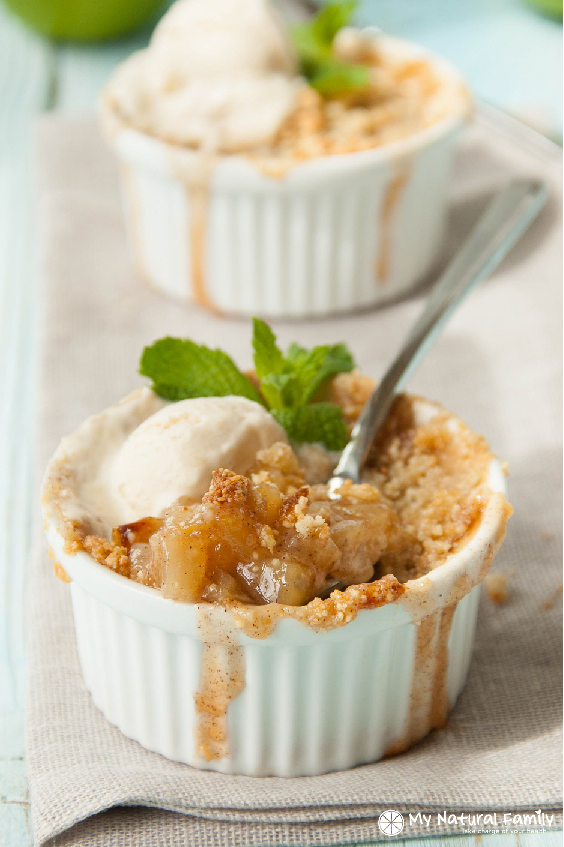 Paleo Apple Crisp - this is so delicious!