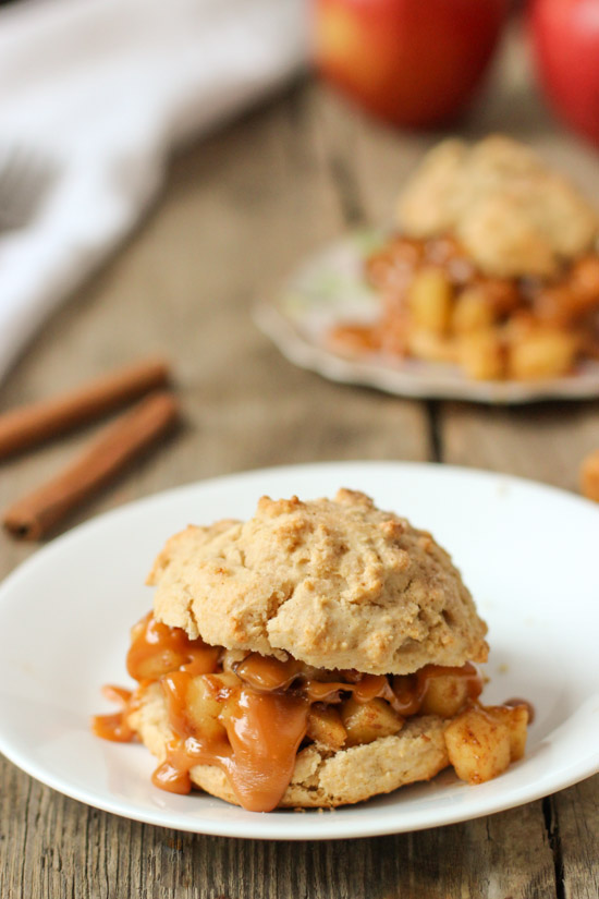 Apple Pie Shortcakes for 2 - yummy!