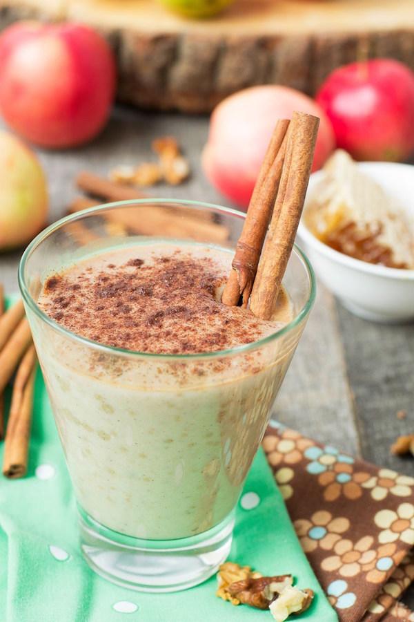 Apple Pie Smoothie - yum yum!