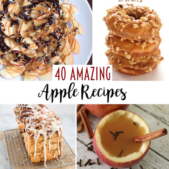 40 amazing apple recipes!