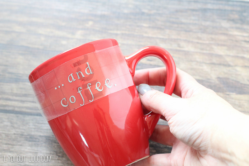 Diy christmas coffee mugs lydi out loud diy christmas coffee mugs solutioingenieria Choice Image