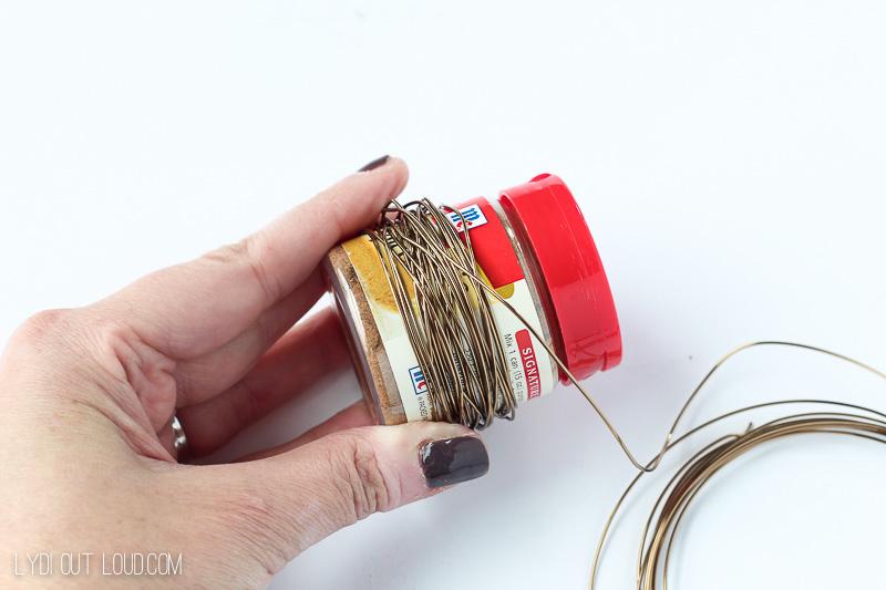 Grapevine & Wire DIY Napkin Rings