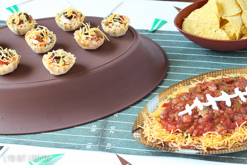 Yummy tailgating recipes!