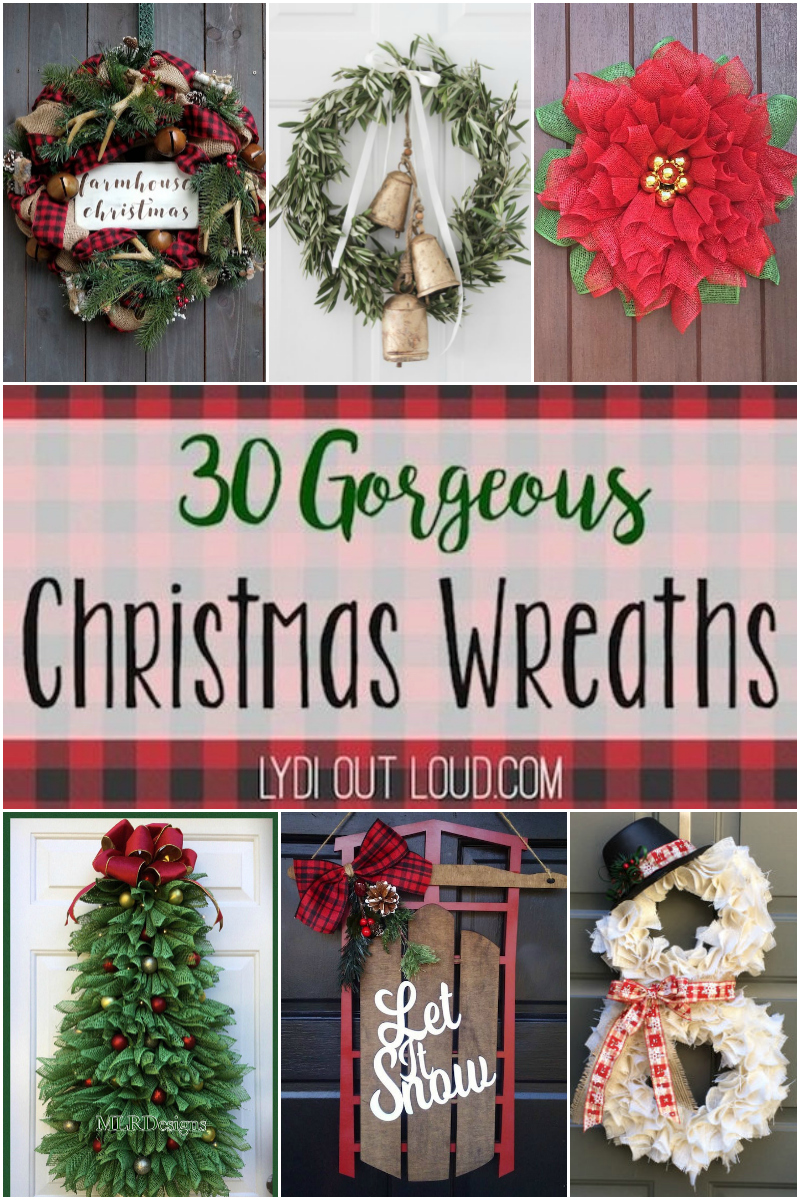 30 Gorgeous Christmas Wreaths to Buy or DIY