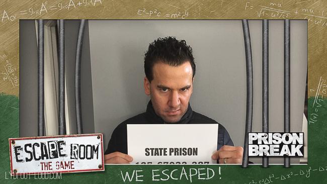 Escape Room Game Night App