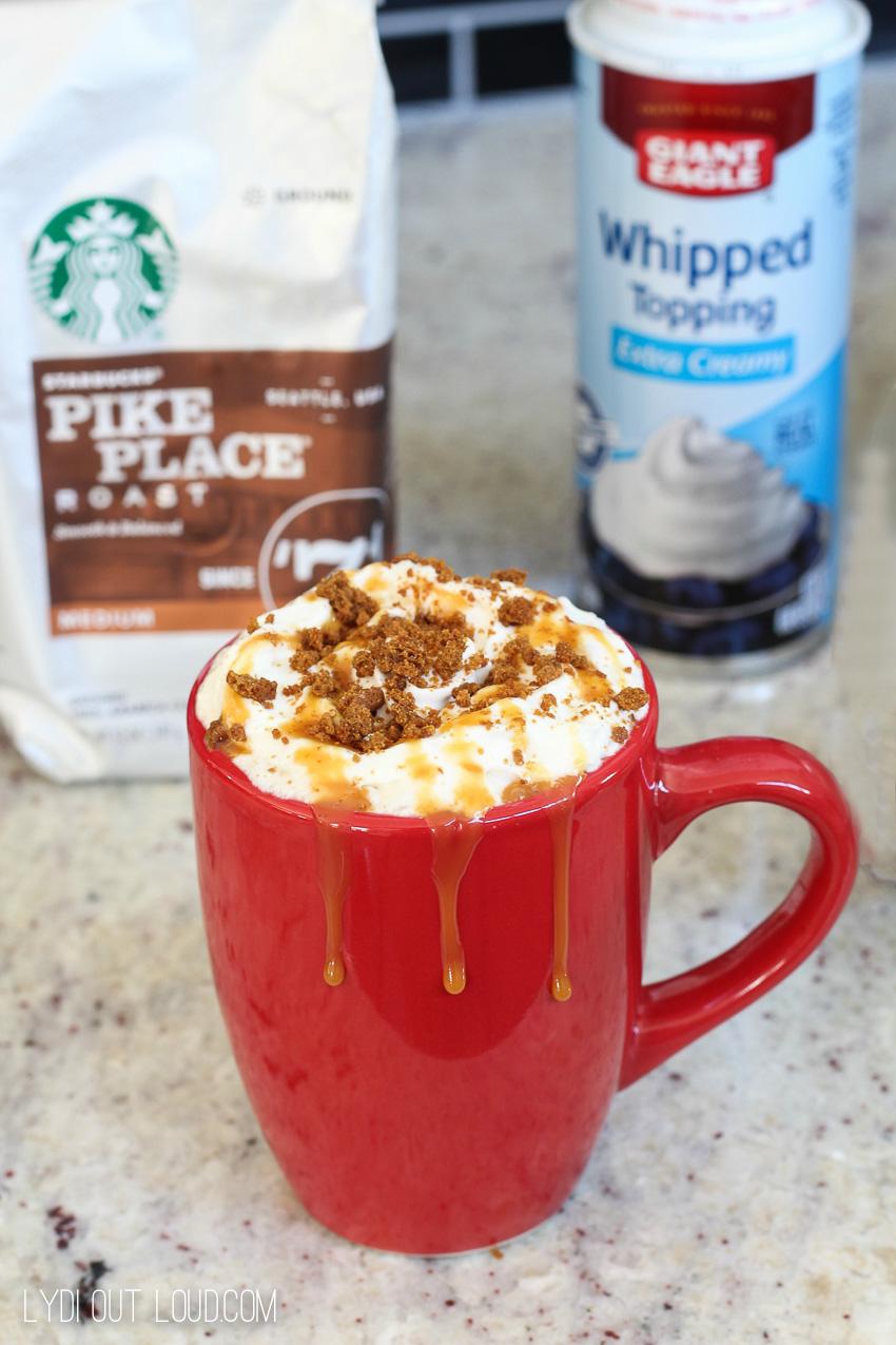 Starbucks Gingerbread Eggnog Latte - yum!