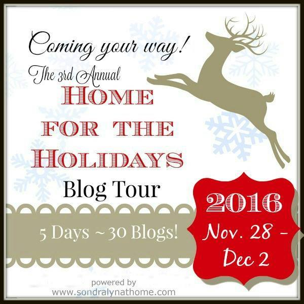 Home for the Holidays Blog Tour! So much amazing holiday inspiration!