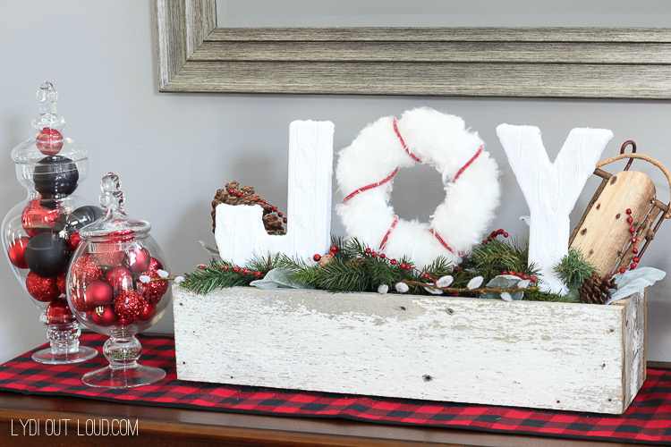 Christmas Joy Sign