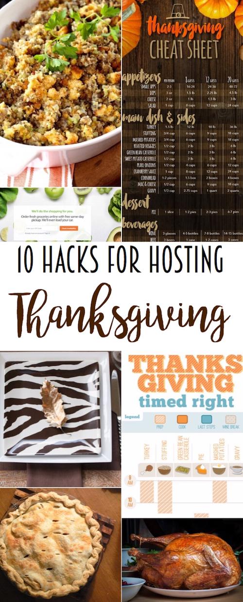 10 hacks for hosting a stress-free Thanksgiving! via @lydioutloud