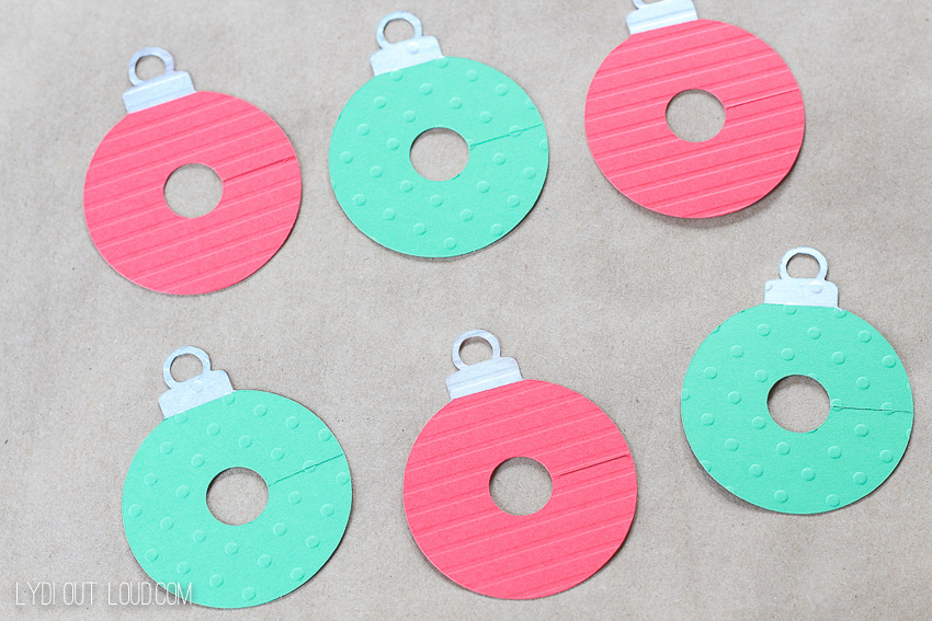 DIY Ornament Wine Charms