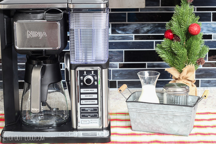 Ninja Coffee Bar Christmas Coffee Station
