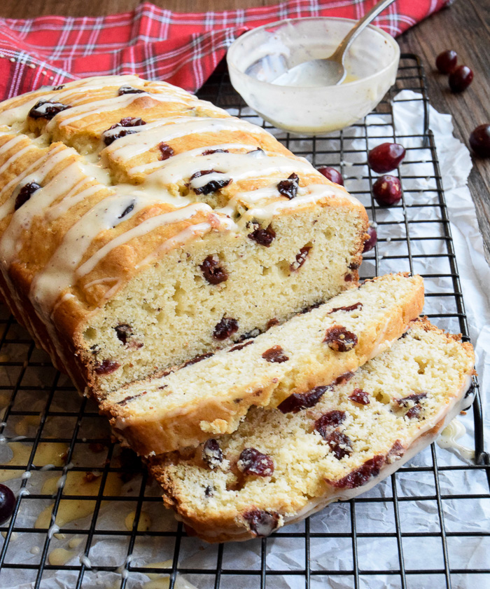 This Eggnog Quick Bread is the perfect Christmas morning treat!