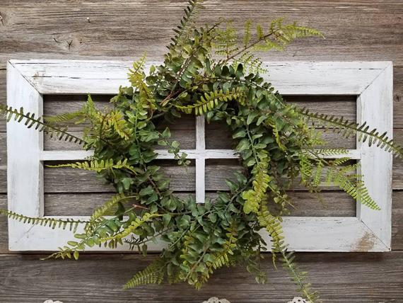 Antique Frame Wreath