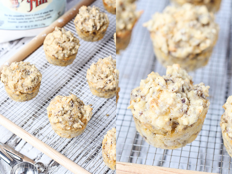 These Gluten Free Chorizo, Egg and Cheese Breakfast Biscuits are my new favorite recipe!