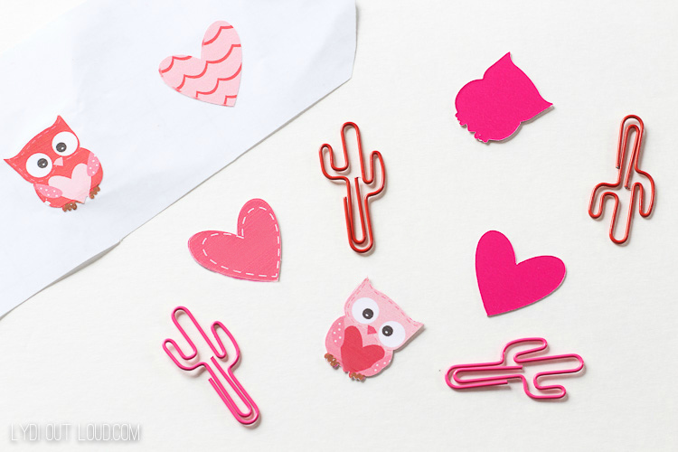 Cute Owl Amp Heart Diy Planner Clips Lydi Out Loud