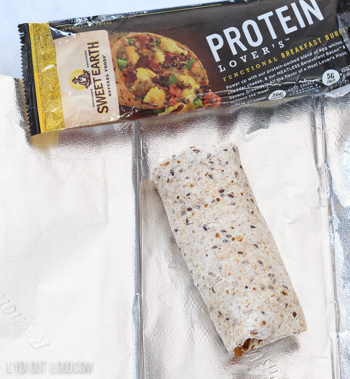 Sweet Earth Breakfast Burritos
