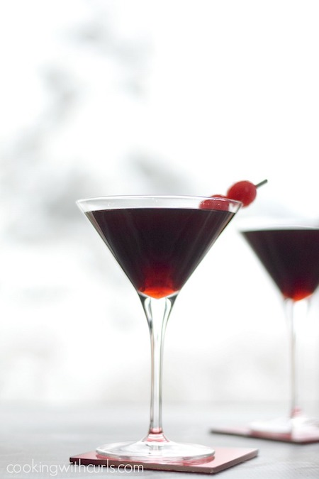 Cherry Cheesecake Martini