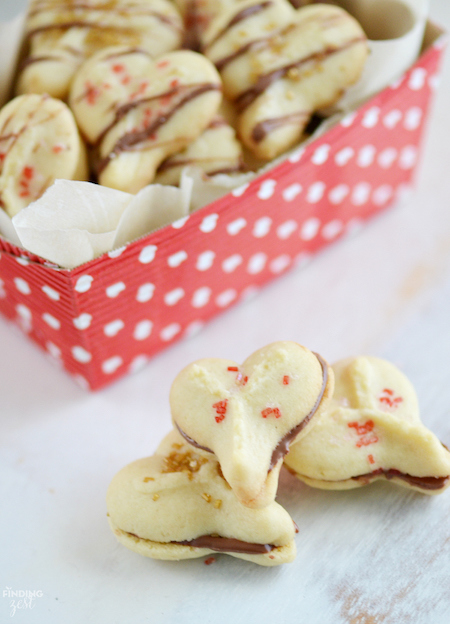 Valentine's Spritz Cookies