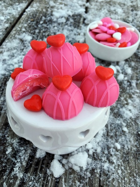 Valentine's Candy with Marshmallow Creme
