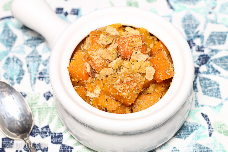 Honey & Rosemary Roasted Butternut Squash - Lydi Out Loud
