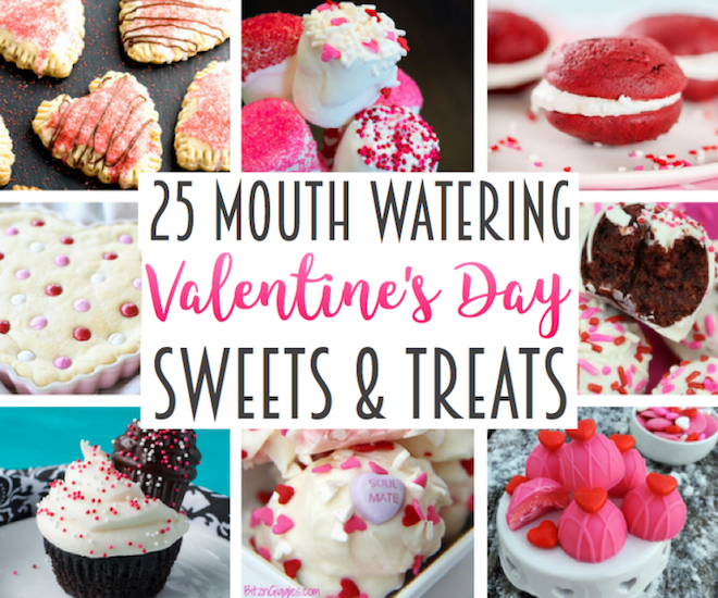 25 Mouth-watering Valentine's Day Sweets & Treats