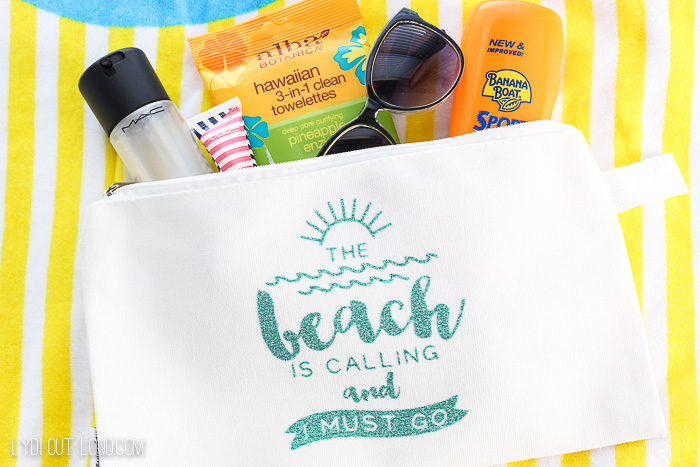 DIY Wet Bathing Suit Bag Tutorial